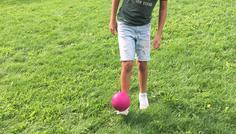 Ershad har taget billedet. - Fordi han dyrker sport/motion.