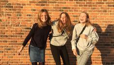 Emma, Ditte, Lulu og Johanne - Det er cool at være i et fællesskab.