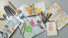 Gry og Mathilde 7.c - Det er cool at lave det man godt kan lide (i vores tilfælde tegne :D)