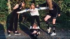 Line, Isabella, Sofie, Kirstine, Celina og Katrine - Det er cool at stoppe mobning.