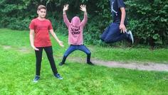Marcus 8.A, Anton 8.A & Danial 8.A - Det er cool at være sammen med sine venner, og det er helt okay at være fjollet.