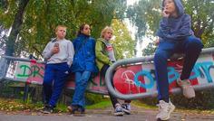 Steinar, Bertram, Sofus, Emma-li & Lina - Et fællesskab er bedre uden røg.