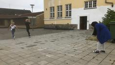 Sille Storm Thode, Sofia Juul Jensen, Natalia Bøje Skov og Salmo Sakawodeen Abdi - Det cool at motionere med sine venner