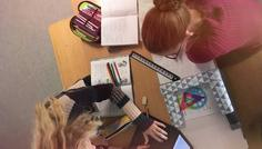 Louise, Rosa og Lea - Det er cool at lære noget.