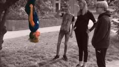 Julius, Lea, Nanna, Nicolai og Sebastian. - Personen i træet er cool, fordi at han tør at skille sig ud og at være anderledes.
