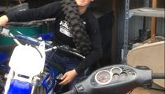 Magnus - Det er fed at køre Yamaha
