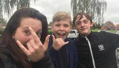 Alexander, Clara og Magnus - Venskab er cool