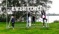 """Sofia, Melisa, Yasmina, Anders og Rasmus - Fordi at """"THE SAME FOR EVERYONE"""" har mange forskellige betydninger."""