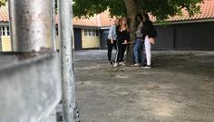 Keerthana, Mette, Nilaxi & Cecilie - Personerne på billedet er cool fordi, de kan være forskellige sammen