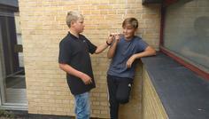 Kasper, Mathias, Jesper, Tarik - Det er cool at hjælpe hinanden med at stoppe med at ryge.