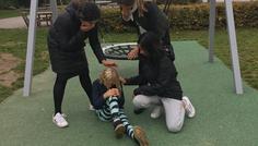 Alisha, Celina, Olivia og Errolene - Det er cool at hjælpe