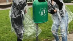 Dita, Emilie, Jasmin og May 8.f - Det er cool at være miljø venlig.