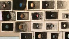 Nicoline - Det er cool at være fra den samme planet. Tegninger fra astronomi.