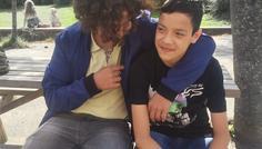 Justin og Emil - det er cool at være gode venner