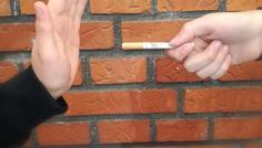 Christian, Benjamin, Christoffer og Maria - Personen er cool fordi at han siger nej til rygning