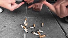 Noah, Johanne, Tea og Cecilie - Vi synes det er sejt ikke at ryge. Vi føler ikke man behøves at ryge for at være sej.