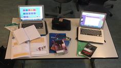 Helene, Anne, Laura og Malene - Det er cool at lave lektier;)