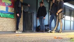 Abdullah, Mathilde, Cecilie og Carl Emil - Billedet er cool fordi det er sejt at hjælpe hinanden med at stoppe med at ryge