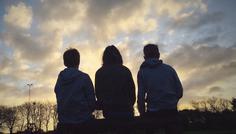 Johanne, Laura, Mike og Nicolai - Det er cool at være sammen, at kunne tale sammen og at kunne grine sammen uden at skulle bevise noget.