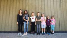 Leonora, Lukas, Laura, Frederik og Smilla - Det er cool at have røgfri smilende børn!