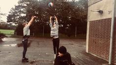 Magnus, Oliver, Noah og Markus - Personerne der spiller basket er cool fordi de bruger deres tid på sport, i stedet for at ryge.