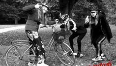 Frederikke, Fie og Nanna - Det er cool at køre med cykelhjelm