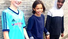 Amanda, Anna, Magnus og Mathias - Forskellighederbliver respekteret, selvom man har forskellig hudfarve. SÅ COOL!