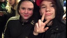 Josefine 7.B - Det er cool at møde sit idol Her er Martinus og jeg