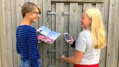 Rebecca, Rebecca og Maja - Venskab trods forskellighed
