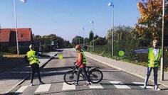 Mathias L, Marius, Rasmus og Oliver - Det er cool at være sikker i trafikken. #sikkerhedfremforalt