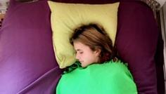 Sarah, Julie, Serena, Anders - Det er cool at få sin søvn