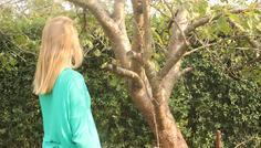 Frida (Amalie på billedet) - Det er vigtigt at værne om naturen;)